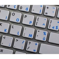Apple French AZERTY English non-transparent keyboard sticker