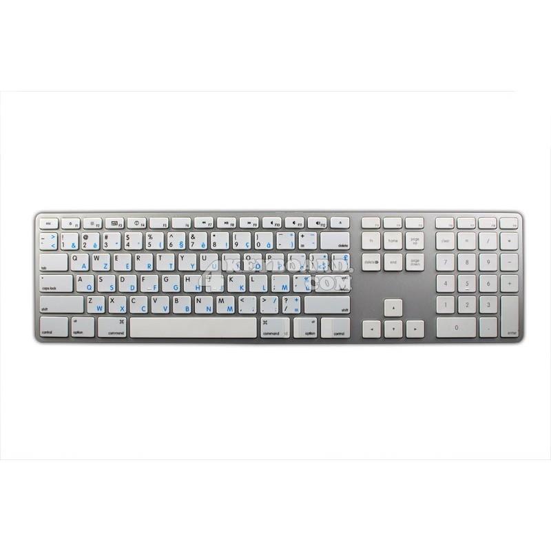 Apple French Belgian English non-transparent keyboard sticker