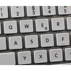Apple German non-transparent keyboard sticker