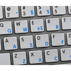 Apple German English non-transparent keyboard sticker
