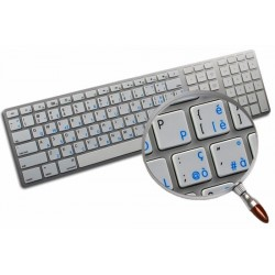 Apple Italian English non-transparent keyboard sticker