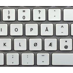 Apple Norwegian non-transparent keyboard sticker