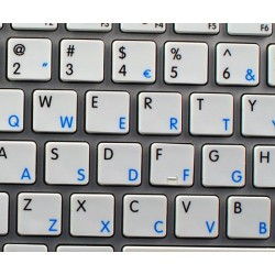 Apple Norwegian English non-transparent keyboard sticker