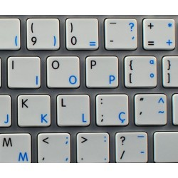 Apple Portuguese English non-transparent keyboard sticker