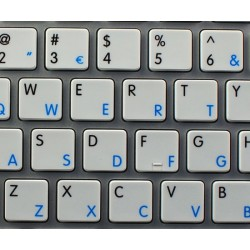 Apple Portuguese English non-transparent keyboard sticker