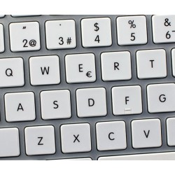 Apple Spanish non-transparent keyboard sticker
