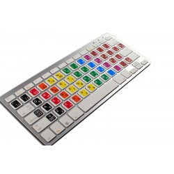 Learning Spanish traditional Colored non transparent keyboard stickers
