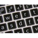 Apple English Large Lettering (Lower Case) non-transparent keyboard sticker