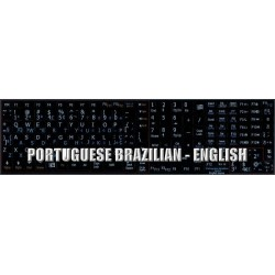 Portuguese Brazilian - English Notebook keyboard sticker