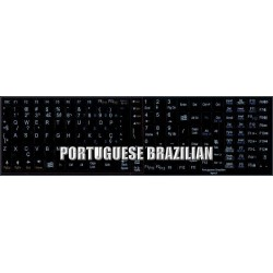 Portuguese Brazilian Notebook keyboard sticker