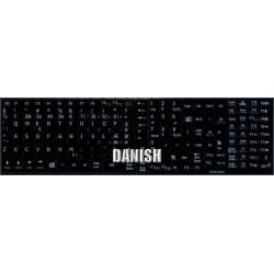 Danish Notebook keyboard sticker