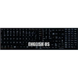English US Notebook keyboard sticker