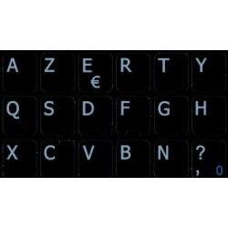French AZERTY Notebook keyboard sticker