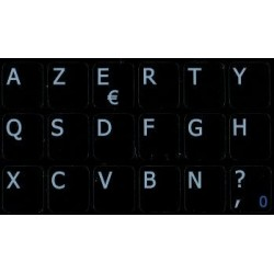 French Belgian Notebook keyboard sticker