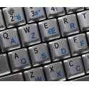 French Belgian English Notebook keyboard sticker