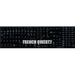 French QWERTY Notebook keyboard sticker