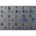 French QWERTY English Notebook keyboard sticker