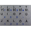 German Notebook keyboard sticker