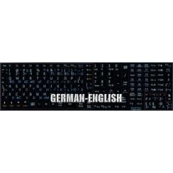German English Notebook keyboard sticker