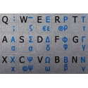 Greek English Notebook keyboard sticker