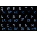 Hungarian English Notebook keyboard sticker