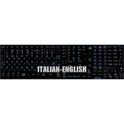 Italian English Notebook keyboard sticker