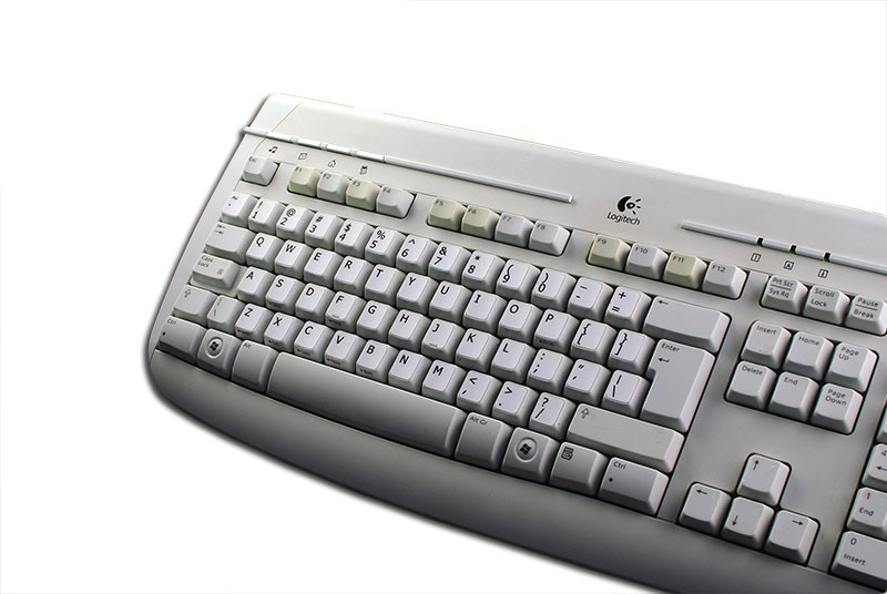 English US non transparent keyboard stickers