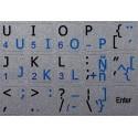 Spanish Latin American - English Notebook keyboard sticker