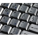 Swedish Finnish Notebook keyboard sticker
