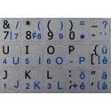 Swiss English Notebook keyboard sticker