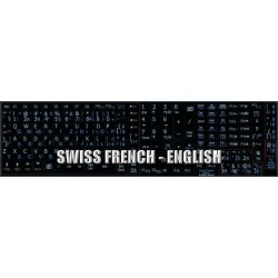 Swiss English Notebook keyboard sticker