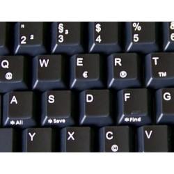 Replacement German keyboard sticker