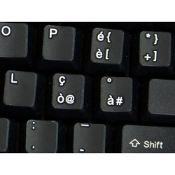 Replacement Italian keyboard sticker