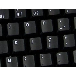 Replacement Portuguese keyboard sticker