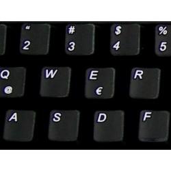 Replacement Spanish Latin American keyboard sticker
