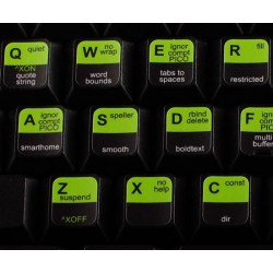 Nano EDITOR keyboard sticker