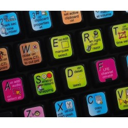 Adobe Audition keyboard sticker