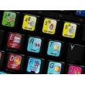 ARDOUR Digital Audio Workstation keyboard sticker
