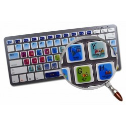 Audio Editor Gold keyboard sticker