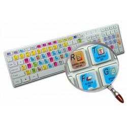 Adobe Freehand keyboard sticker
