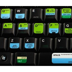 Eclipse keyboard sticker