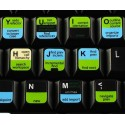 Eclipse keyboard sticker