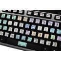 Avid Media Composer & Symphony Nitris Galaxy series keyboard sticker 12x12 size