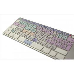 Avid Pro Tools Galaxy series keyboard sticker apple
