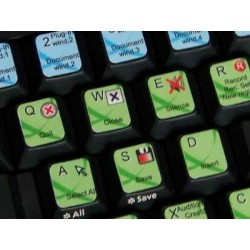 Bias Peak keyboard sticker