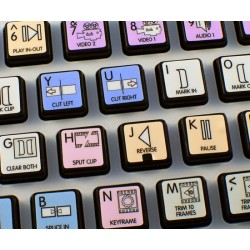 Avid News Cutter Galaxy series keyboard sticker 12x12 size