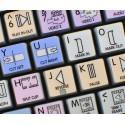 Avid News Cutter Galaxy series keyboard sticker 12x12 size