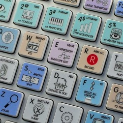 Cakewalk Sonar X Galaxy series keyboard sticker