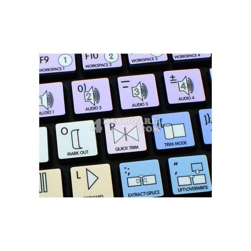Avid News Cutter Galaxy series keyboard sticker apple size