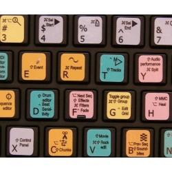 Motu Digital Performer keyboard sticker